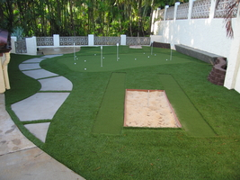 Artificial Backyard Putting Green nylawn - hawaii's synthetic putting greens